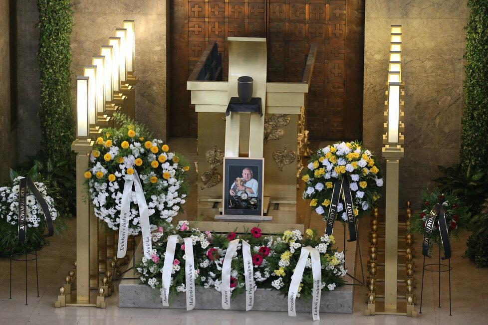 Pohřeb Jiřího Krytináře v Praze