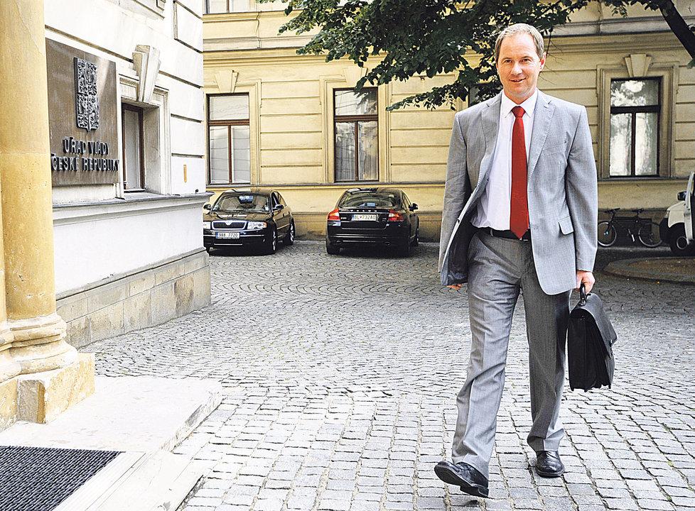 Předseda Starostů a nezávislých Petr Gazdík