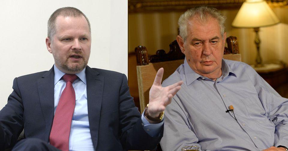 Předsedovi ODS Petru Fialovi se nelíbí Zemanova metafora s jezinkami. Ostatně stejně jako dalším politikům.