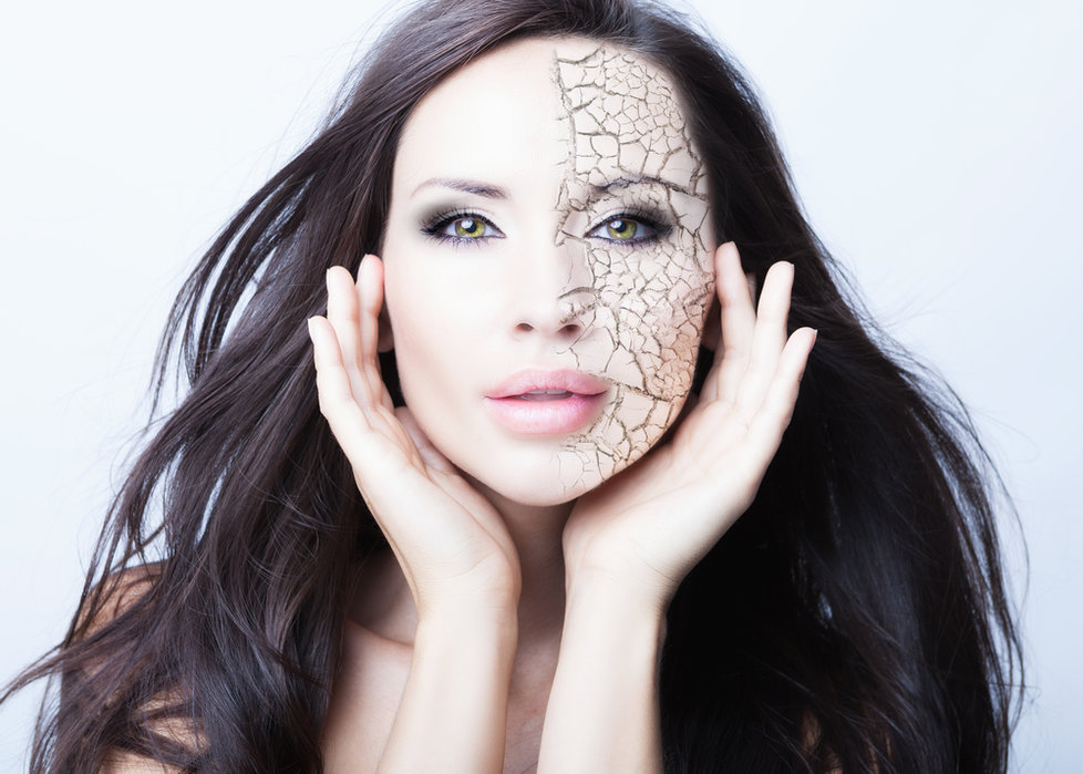 Bez správné péče je vaše pokožka dehydrovaná a bez ochrany