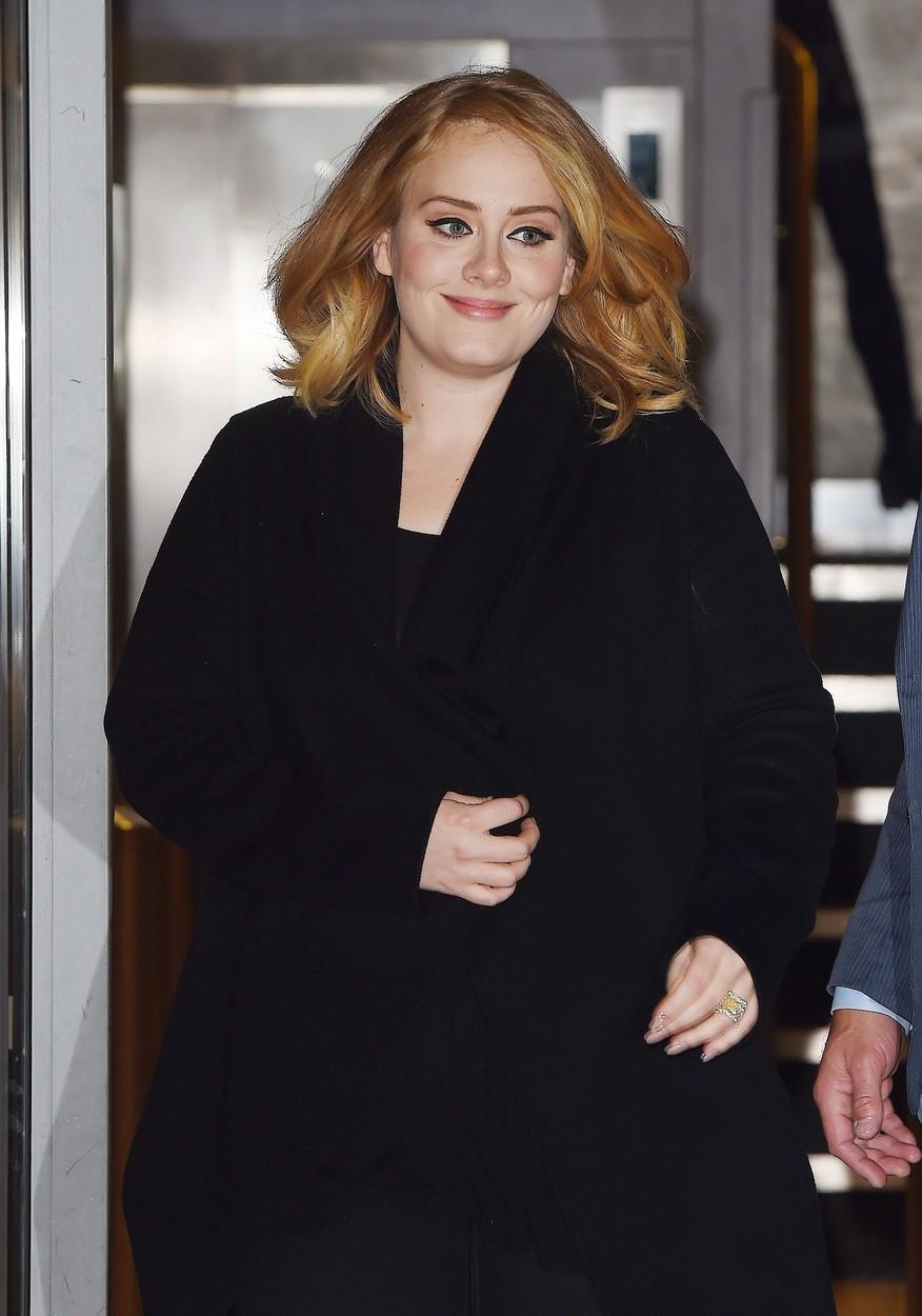Zpěvačka Adele