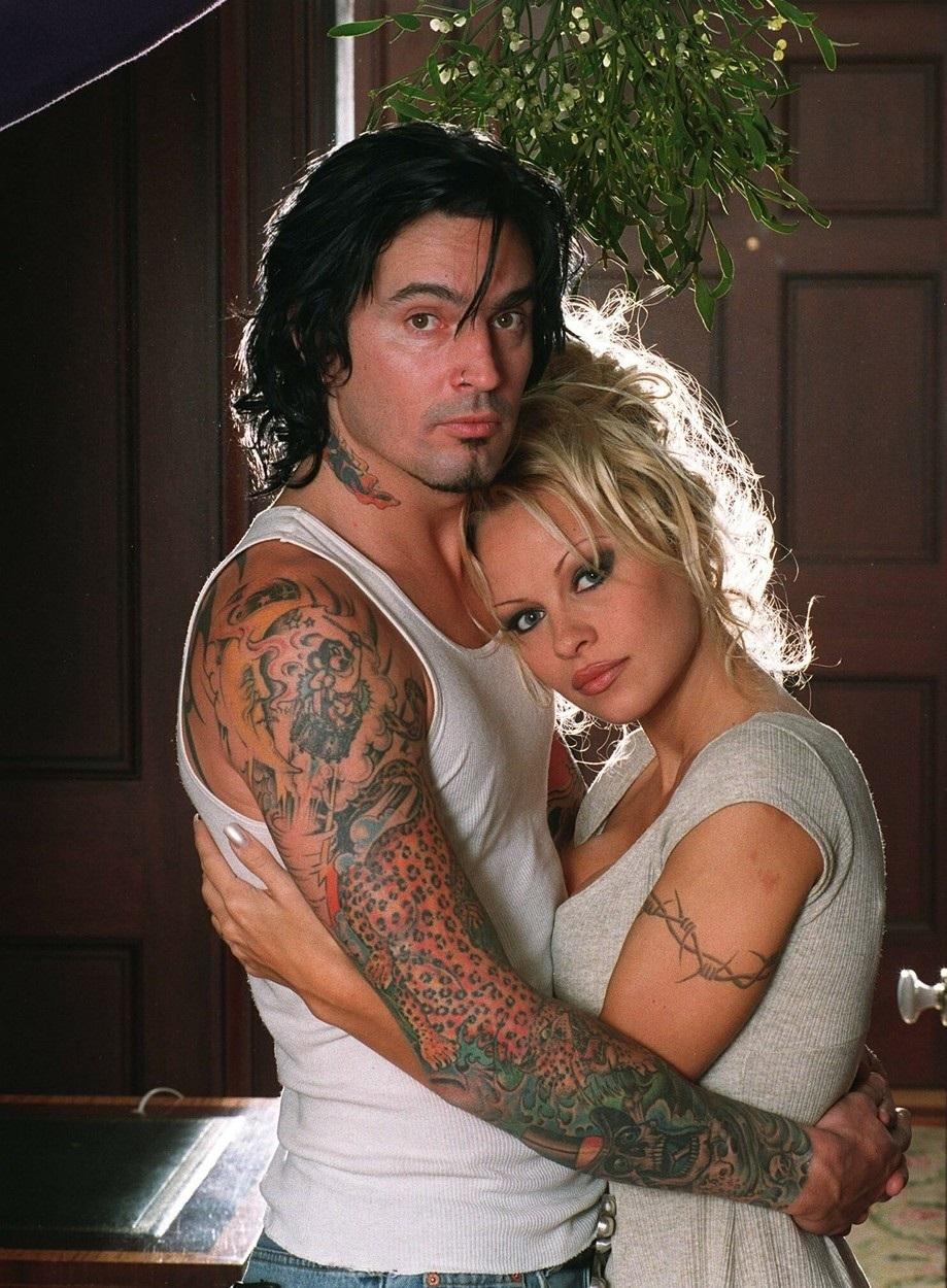 Pamela Anderson a její bývalý manžel Tommy Lee