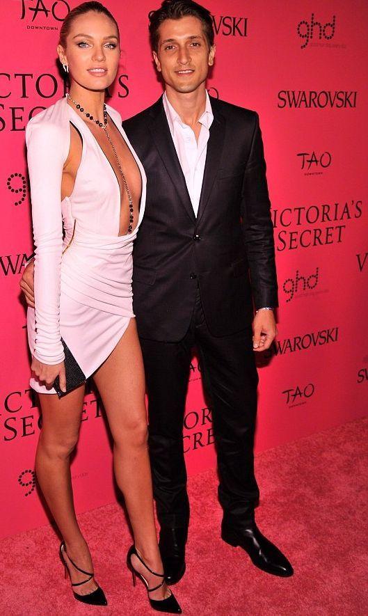 Candice Swanepoel a její snoubenec model Herman Nicoli