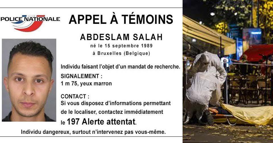 Salah Abdeslam je na útěku