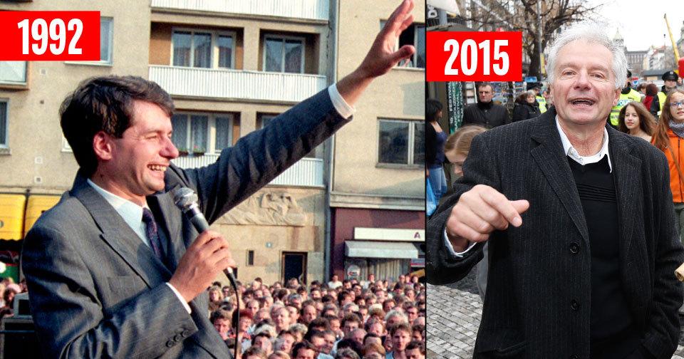 Miroslav Sládek se opět účastnil během 17. listopadu 2015 řady akcí