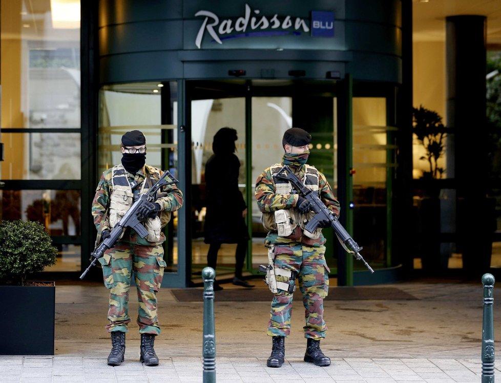 V Bruselu platí nejvyšší stupeň pohotovosti před teroristickými útoky