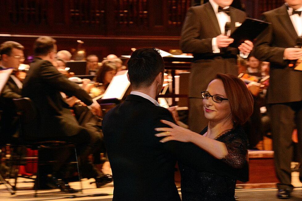 Primátorka Adriana Krnáčová na 15. reprezentačním plesu hlavního města Prahy.