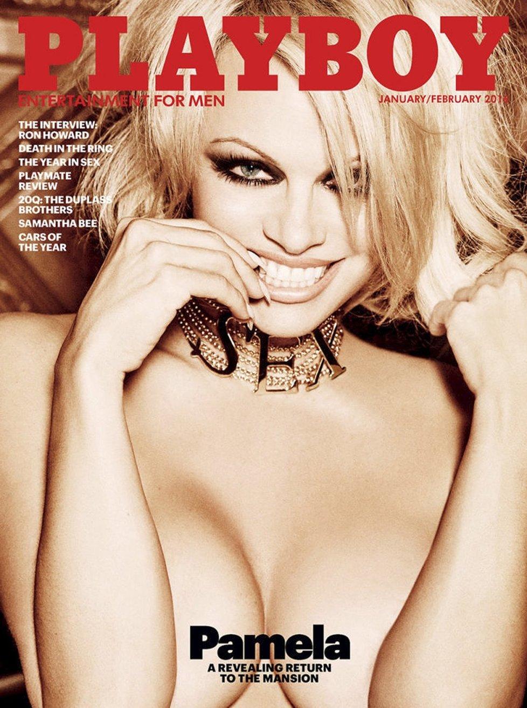 Pamela Anderson se stane poslední nahou ženou v Playboyi.