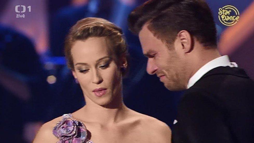Ze StarDance vypadl Leoš Mareš, brečel on i jeho přítelkyně Monika.