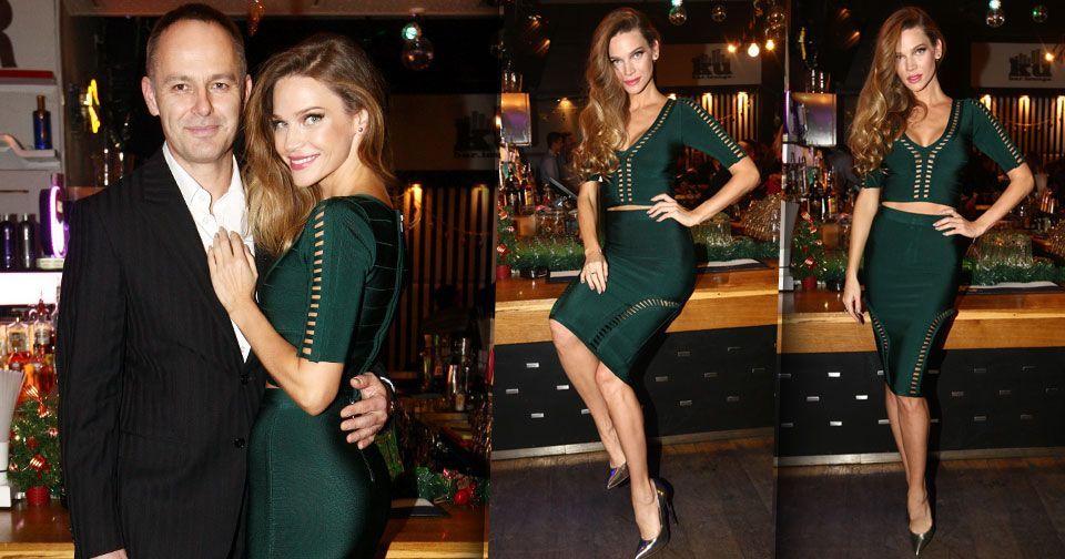 90a9467965a Andrea Verešová vypadala luxusně.