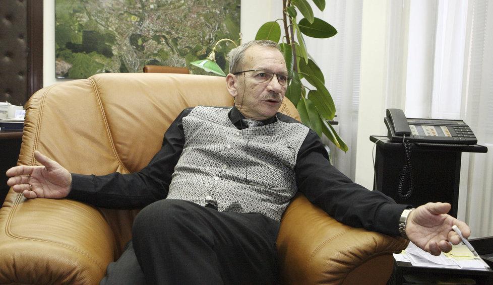 Jaroslav Kubera byl v čele Teplic 24 let.