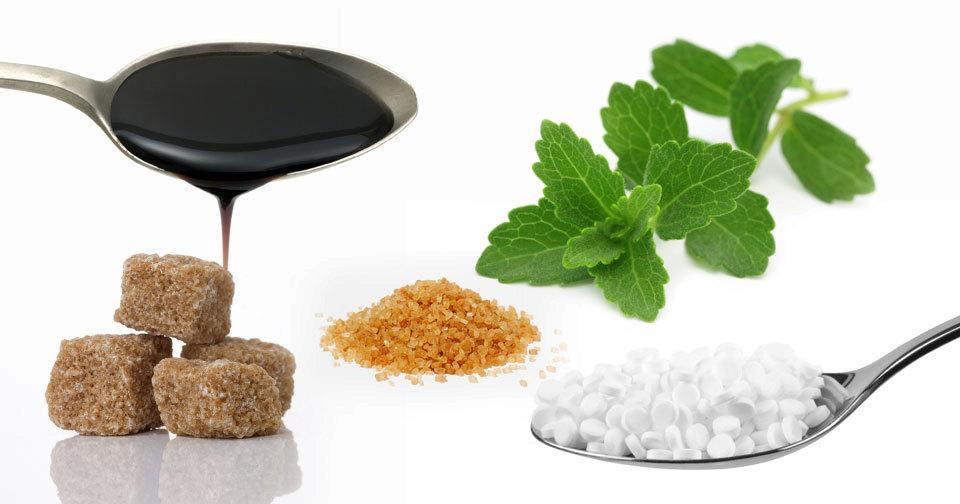 Bílý cukr má řadu alternativ.