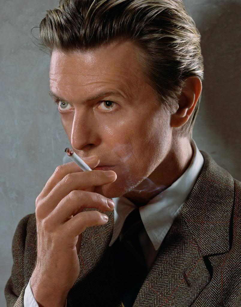 David Bowie měl jedno oko hnědé a jedno blankytně modré.