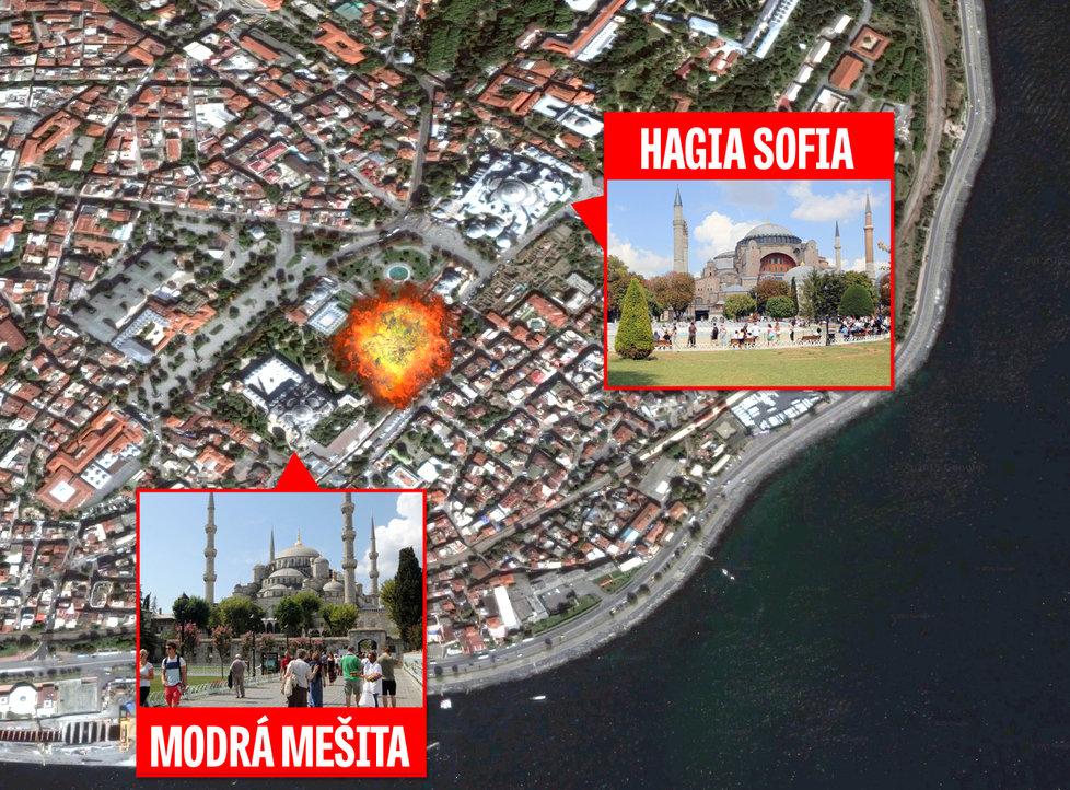 Více než 10 mrtvých a přes 15 zraněných, to je prvotní bilance úterního výbuchu v centru Istanbulu.