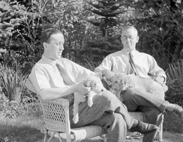 Bratři Karel a Josef Čapkové