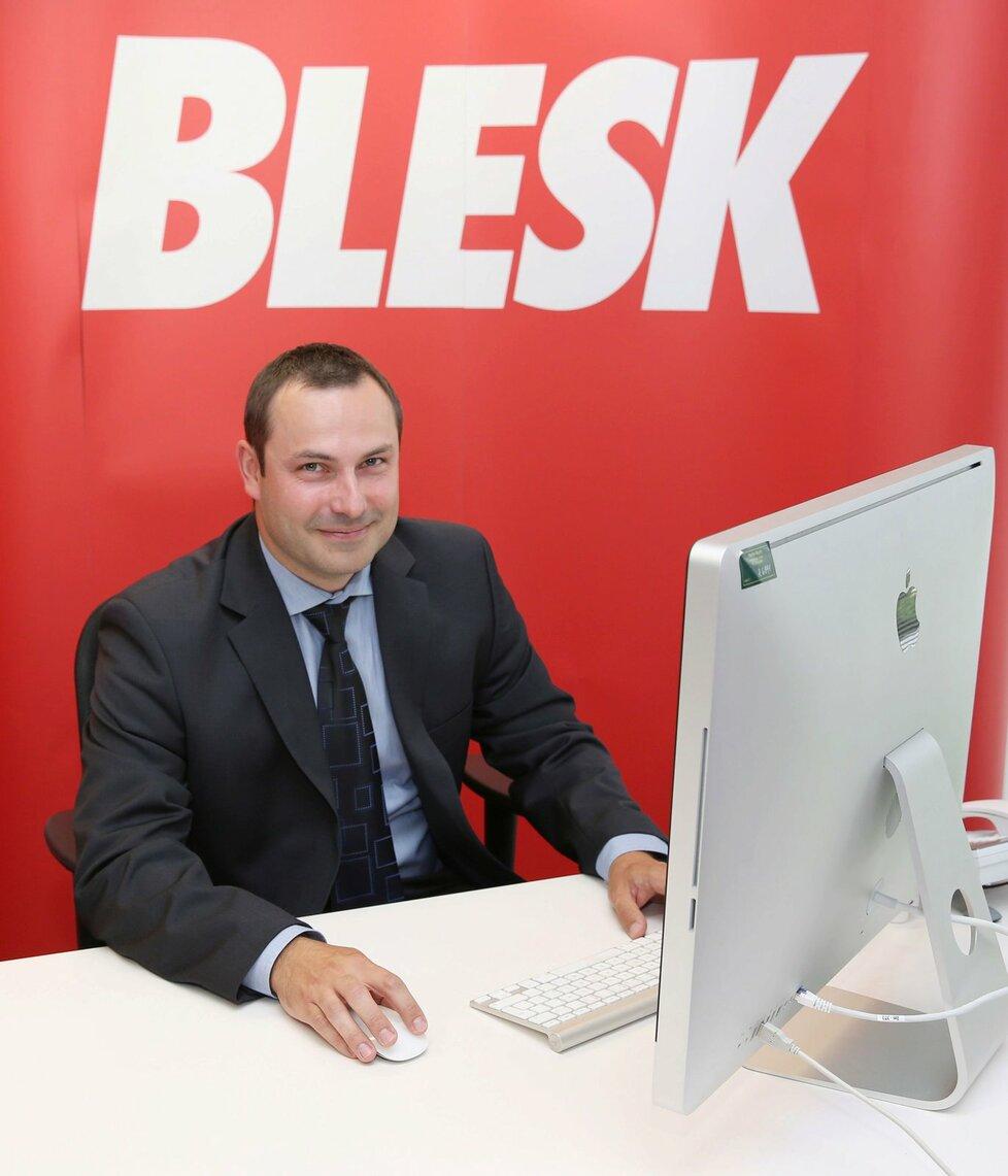 Mgr. Petr Novák ze společnosti Vaše nároky.