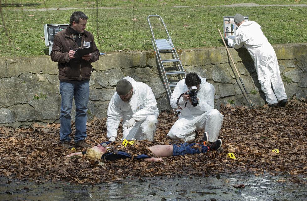 Případy 1. oddělení - seriálové zpracování vraždy