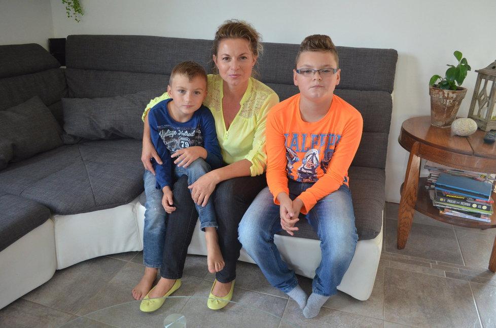Niels (6) a Alex (11) musí chodit do praktické školy kvůli zdravotním problémům.