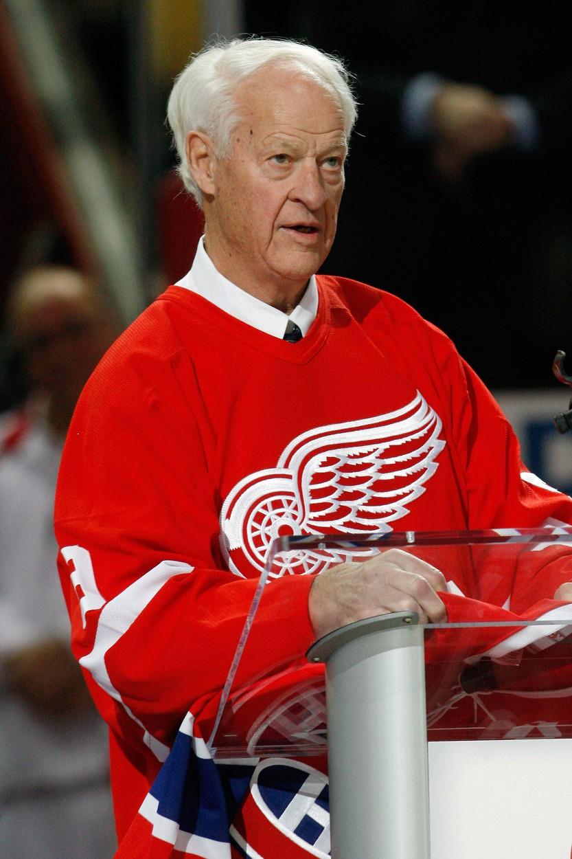 Legenda hokejové NHL Gordie Howe