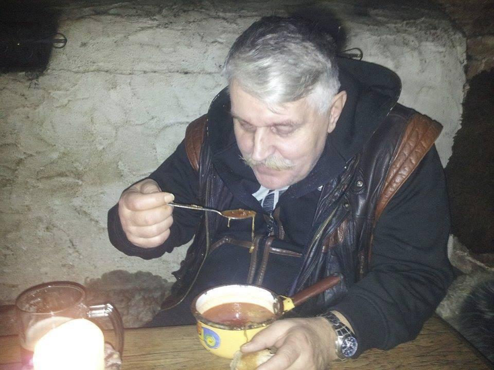 Pravý český gulášek si Jonák vychutnal.