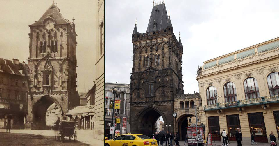 Vojska Jana Lucemburského pronikla za pražské opevnění v místech dnešní Prašné brány. (ilustrační foto)