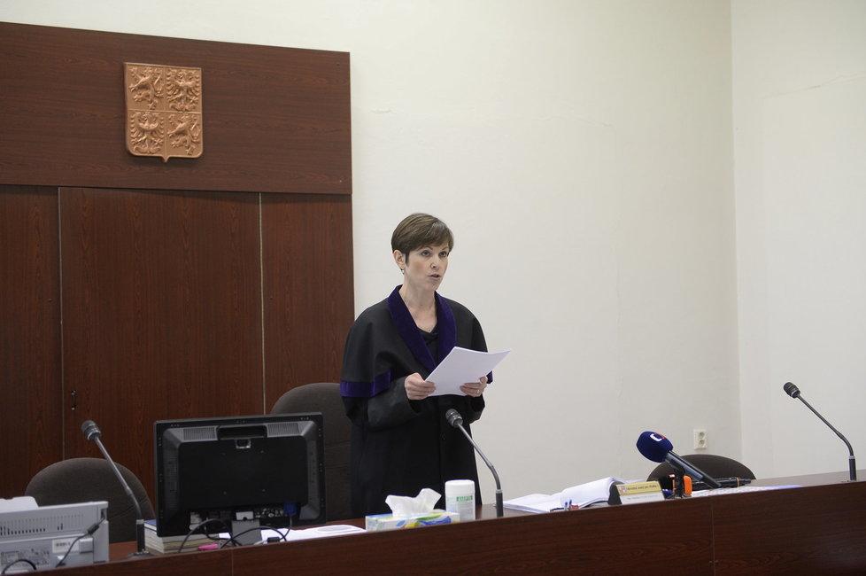 Soud kvůli Zemanovu Peroutkovi: Soudkyně Sedláková