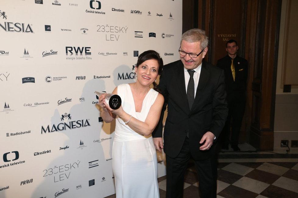 Za Nejlepší ženský herecký výkon v hlavní roli získala Českého lva Alena Mihulová za film Domácí péče.
