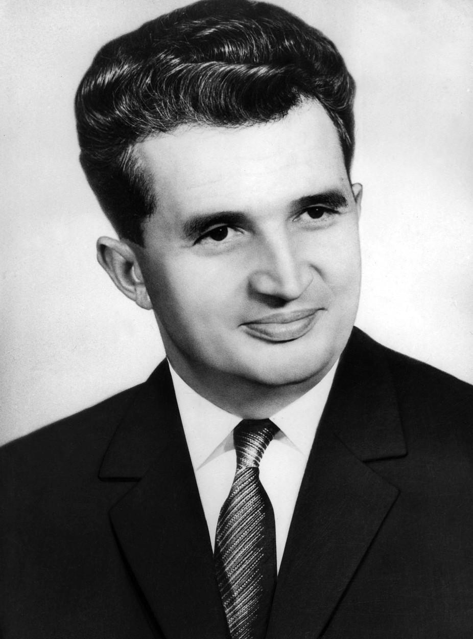 Bývalý rumunský prezident Nicolae Ceaușescu