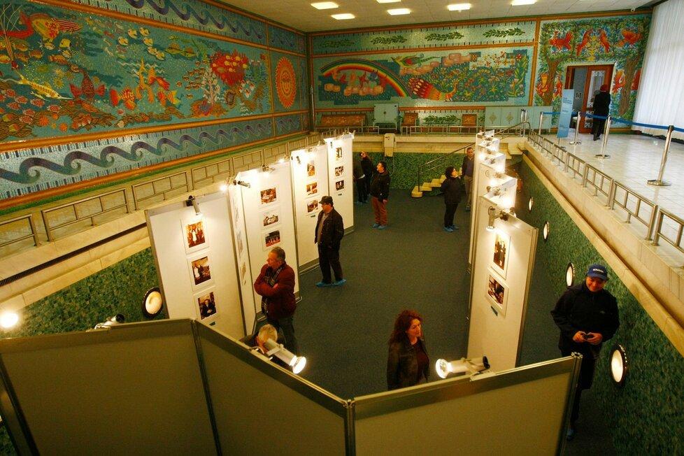 Někdejší honosná rezidence rumunského diktátora byla otevřena veřejnosti.