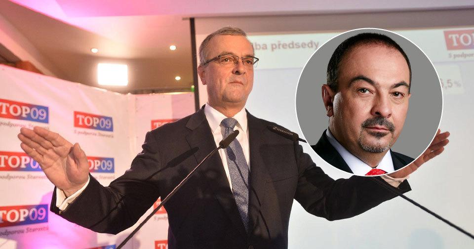 Dlouholetý místopředseda TOP 09 Pavol Lukša odchází ze strany. Vadí mu přístup nového předsedy Miroslava Kalouska.