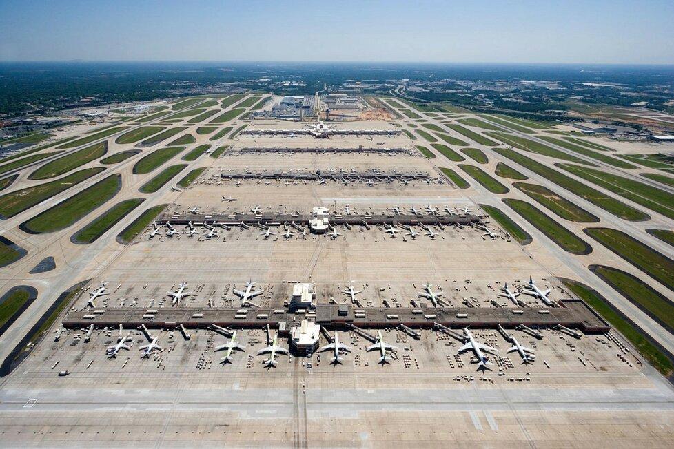 Letiště v americké Atlantě