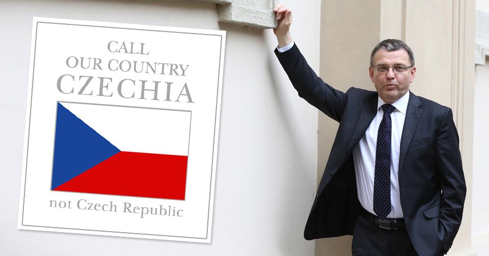 Lubomír Zaorálek a další ústavní činitelé jedou lobbovat za název Czechia.