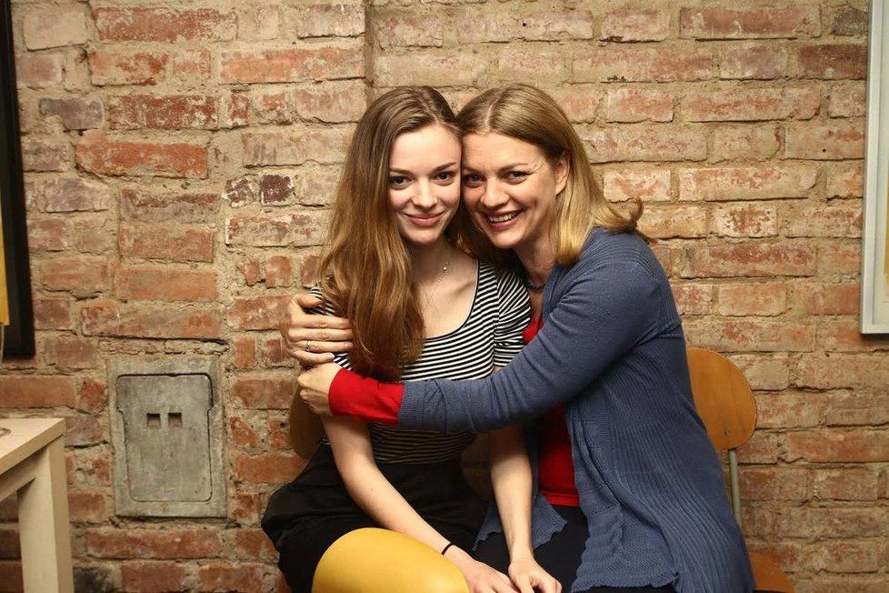 Barbora Srncová s dcerou Emmou