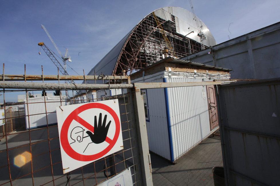 Sarkofág v Černobylu