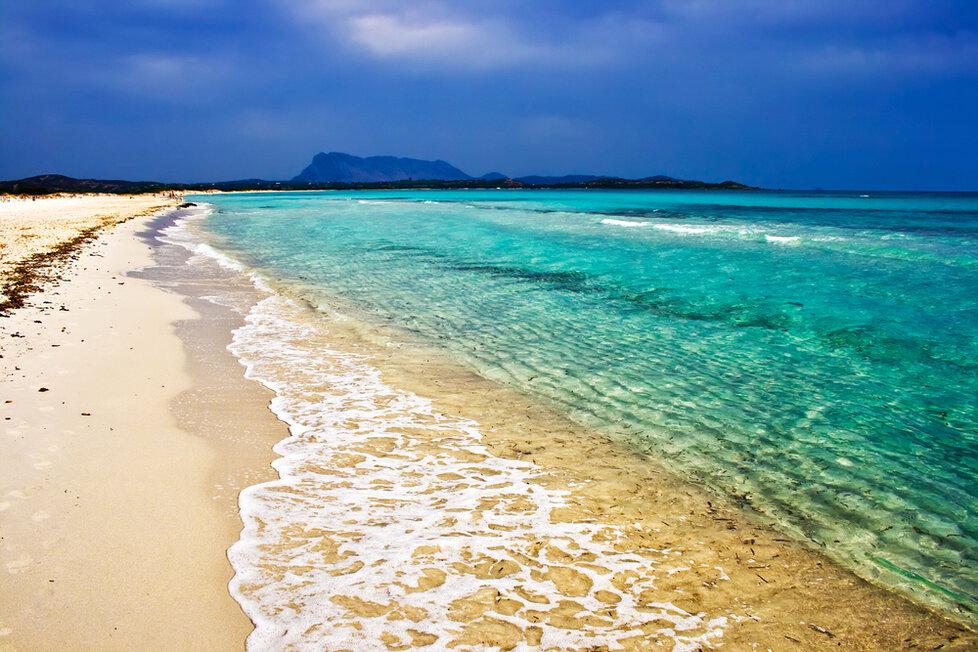 Pláž La Cinta, Sardínie - San Teodoro