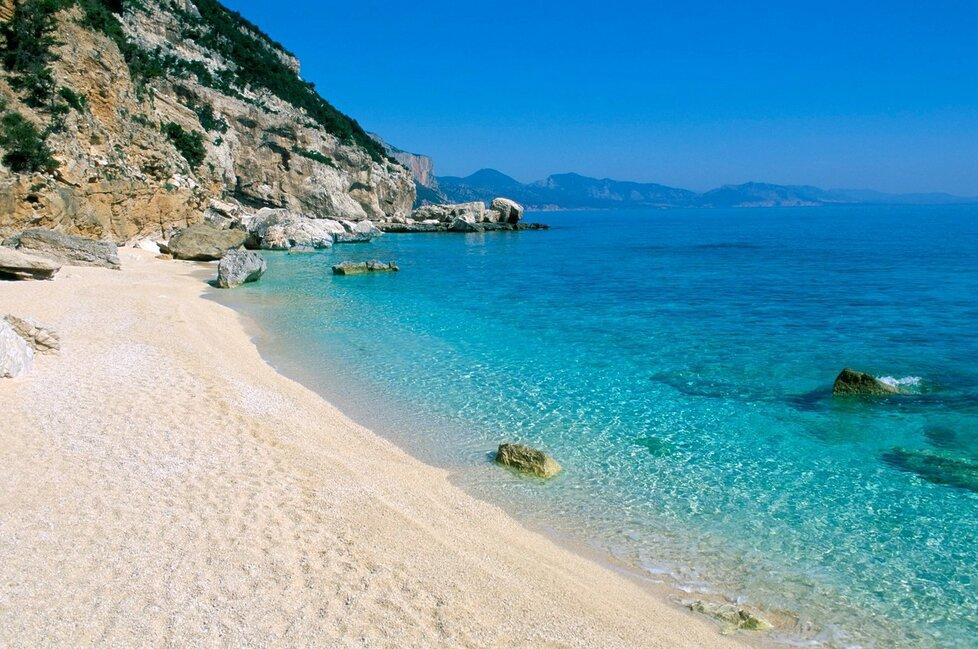 Cala Mariolu, Sardínie - Baunei