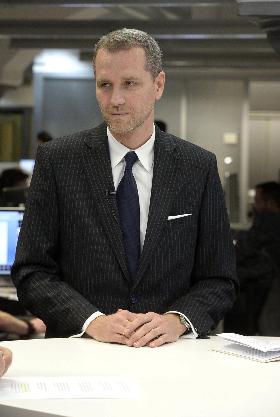 Šéf bavorské AfD Petr Bystroň ve studiu Blesk TV