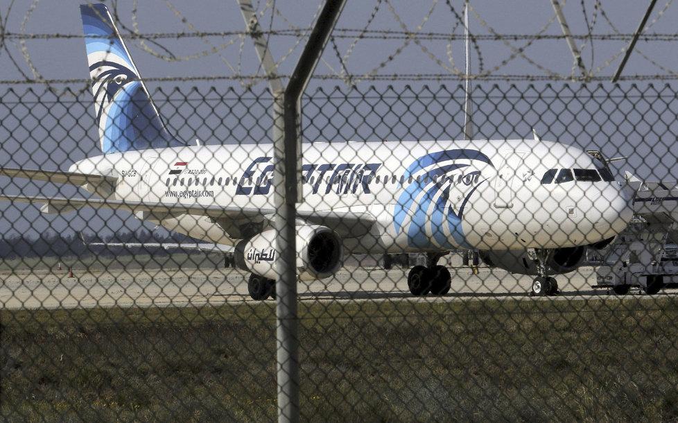 Archivní snímky Airbusu A320 letecké společnosti EgyptAir.