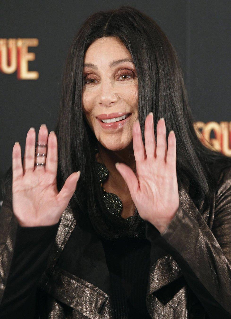 Zpěvačka Cher v roce 2010