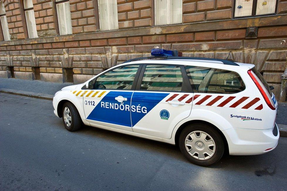 Maďarská policie (Ilustrační)