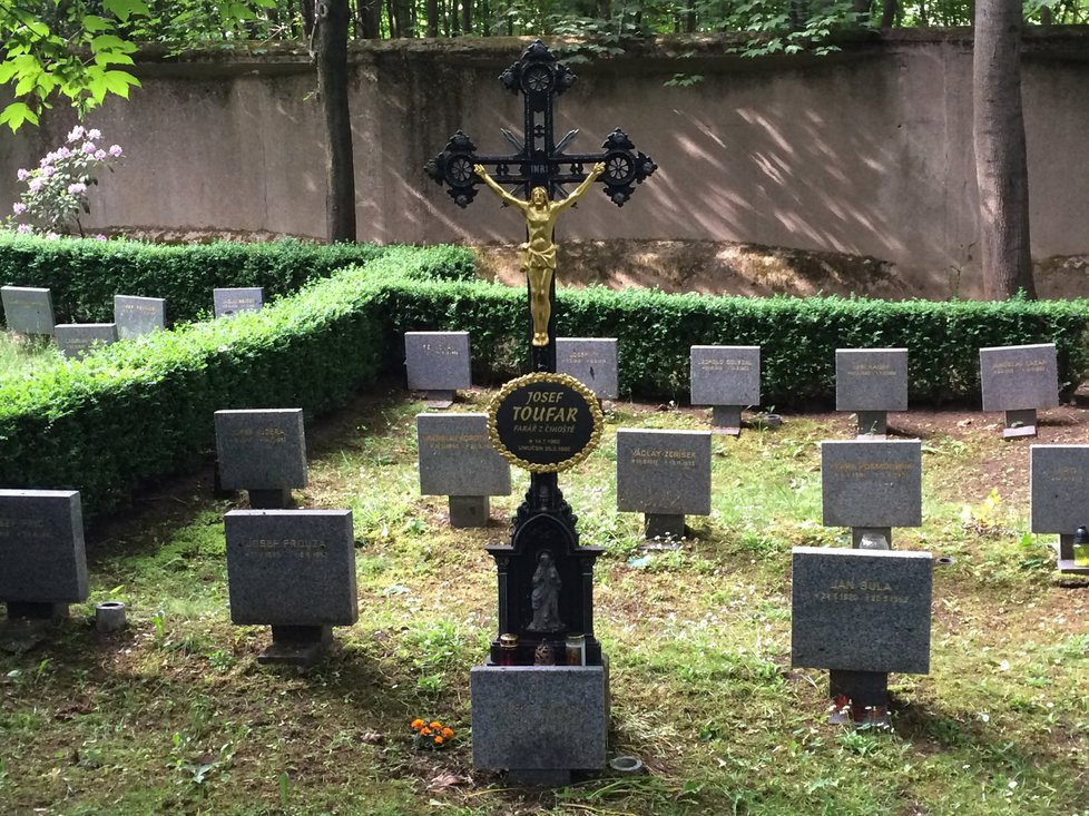 Hroby politicky pronásledovaných lidí