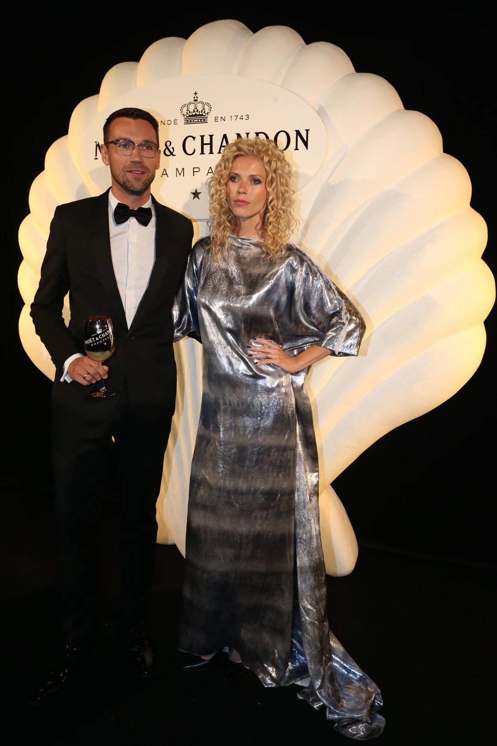 Lukáš Hejlík s manželkou Veronikou
