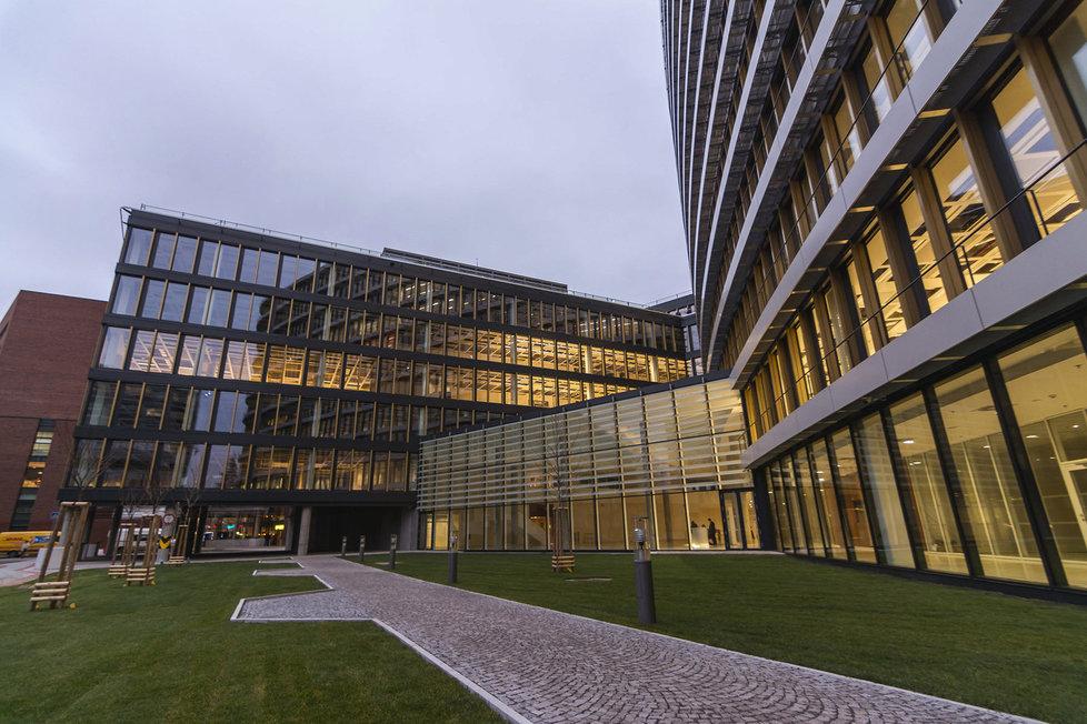Nové sídlo firmy Avast v Praze na Pankráci