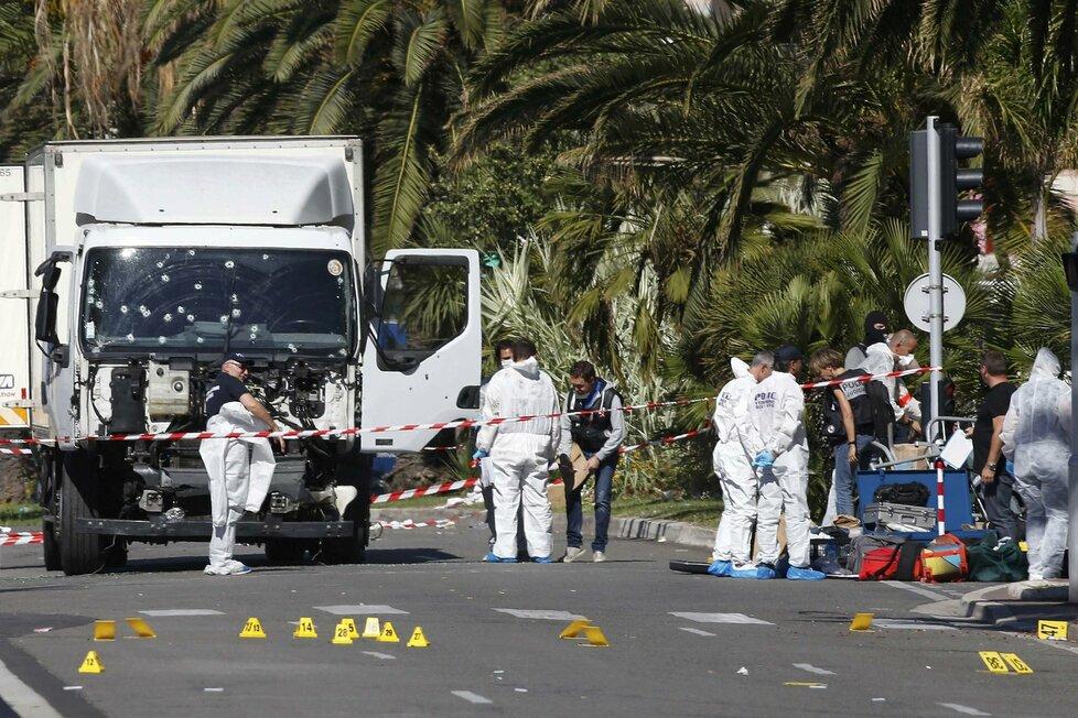 Vyšetřování útoku v Nice
