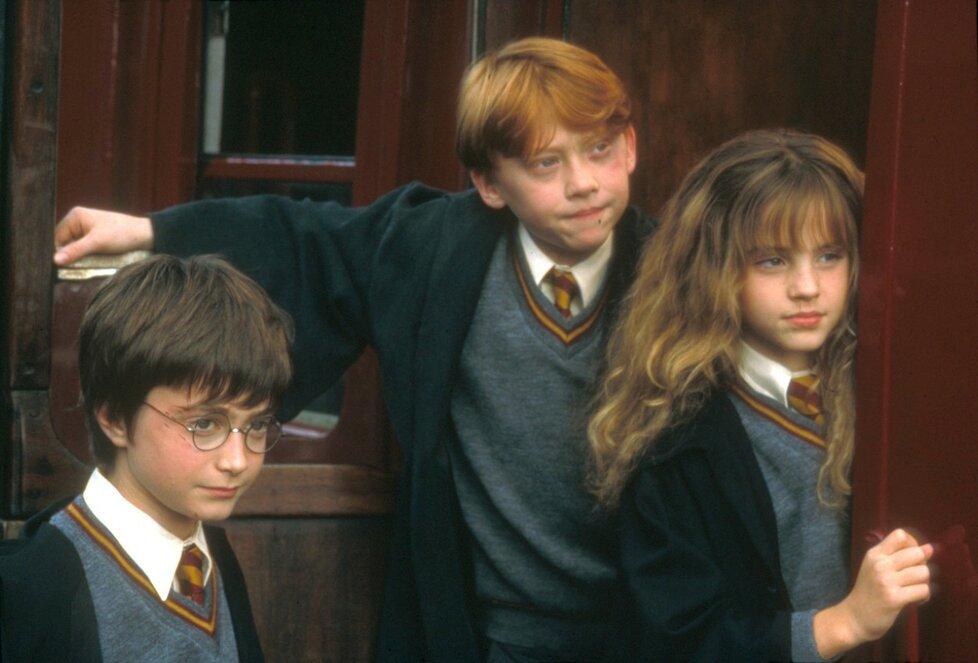Ukázka z filmu Harry Potter a kámen mudrců