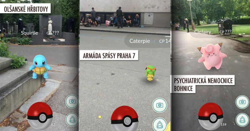 Pokémony najdete na hřbitově i mezi bezdomovci v Armádě spásy. ebf6c8addd