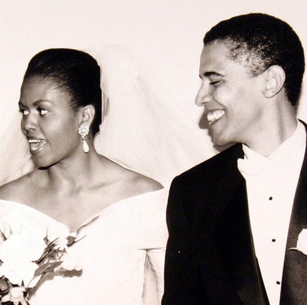 Barack Obama si bere Michelle