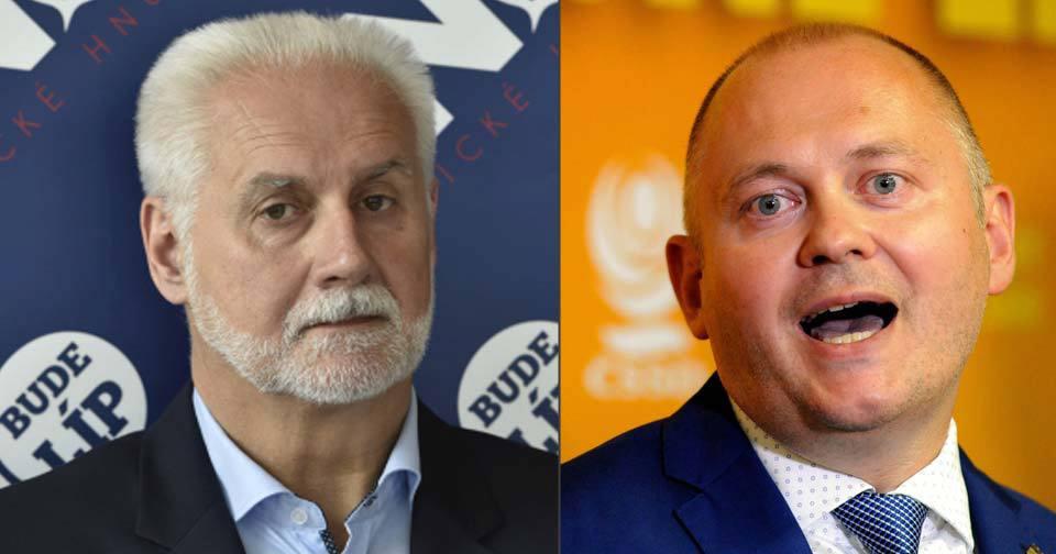 Lídr ANO Šimek rozhodně lídra ČSSD Haška nešetří. Hejtman vrací úder.