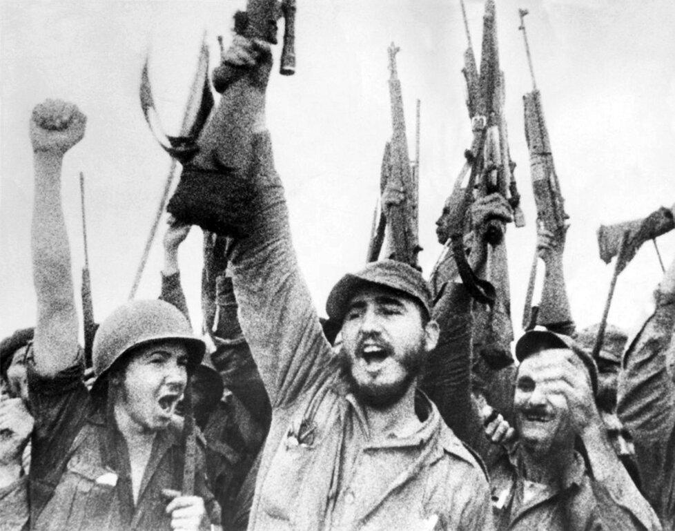 Fidel Castro, revolucionář Vítězství nad Batistou v roce 1959