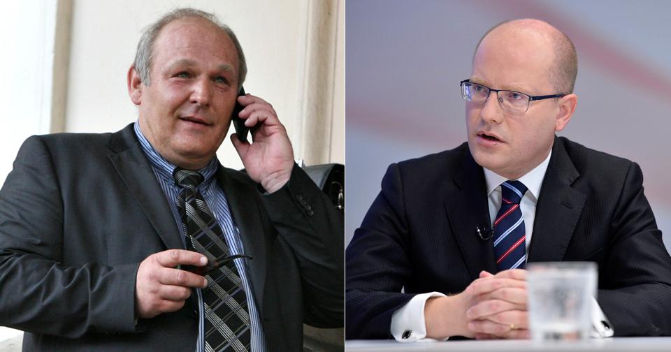Premiér Bohuslav Sobotka není z Humlovy aktivity na Facebooku nadšený